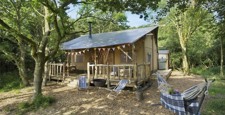 Two Storey Luxury Safari Tent