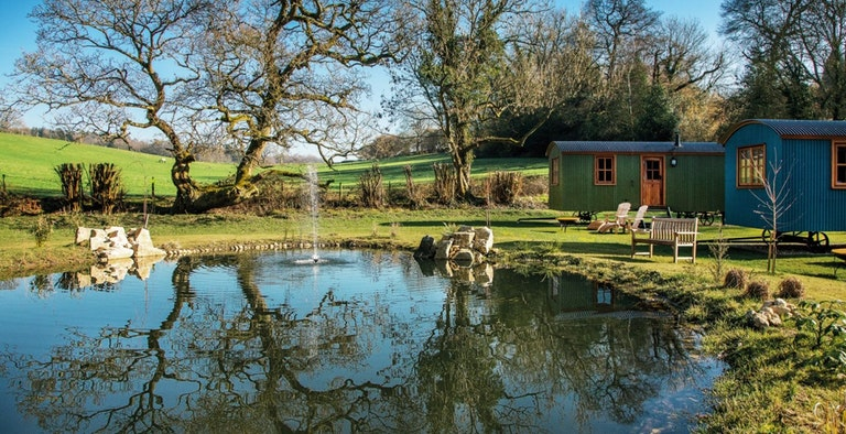 The Merry Harriers Inn & Shepherds Huts