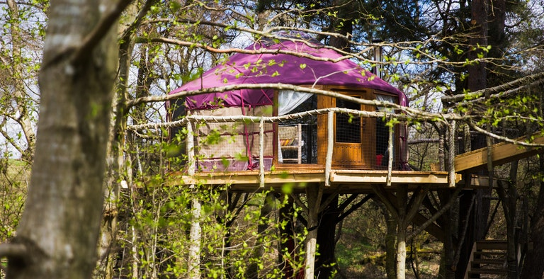 Houlet The Treehouse Yurt