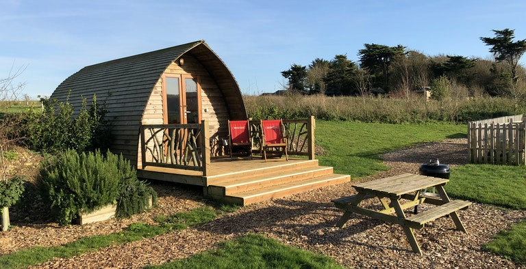 Eco Pods at Toms Eco Lodges