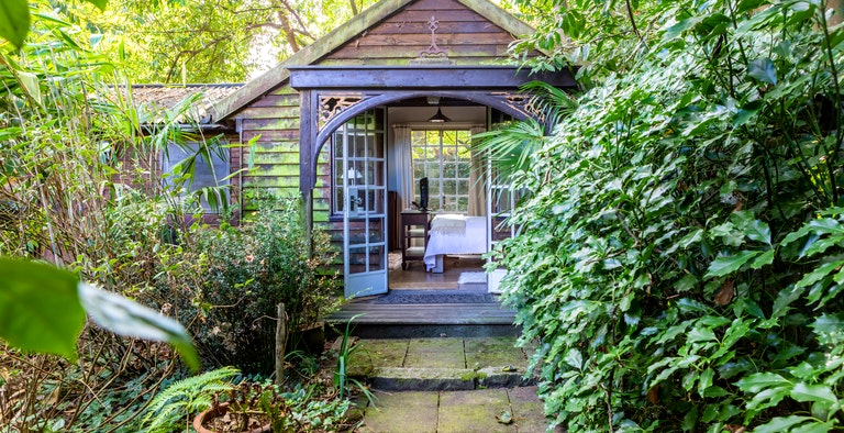 The Garden Room at Castle Cottage