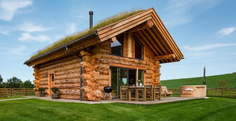Eildon Melrose Log Cabin