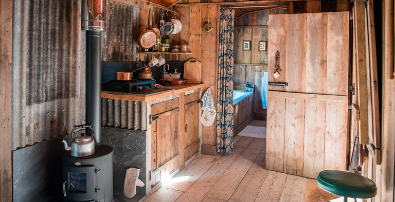 The Woodman's Wagon Treehouse