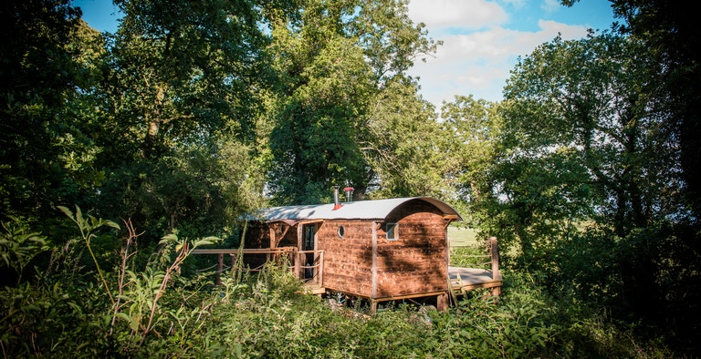 The Woodman's Wagon Treehouse