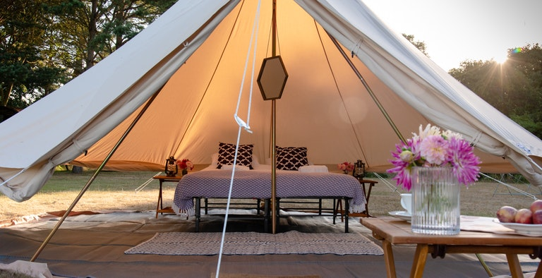 Cadland Pop Up Glamping