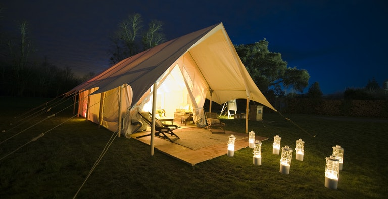 The Pop-Up Hotel at Cadland