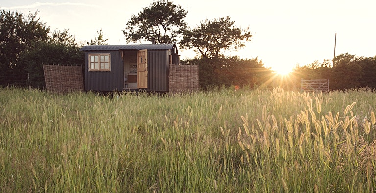 The Huts at Elmley Nature Reserve