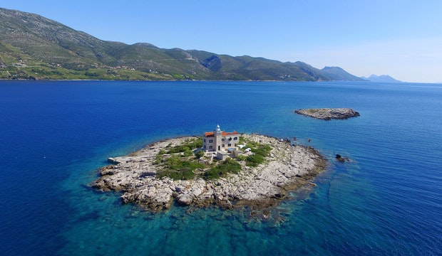 Lighthouse Korcula
