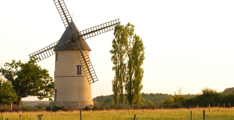 Romantic Windmill - France