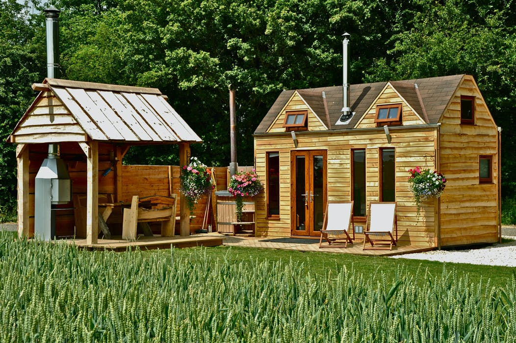 Tinywood Houses Miniature Glamping Homes With Open Air