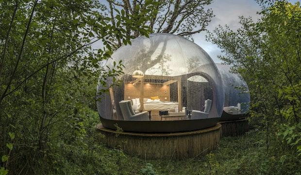 Finn Lough Bubble Domes