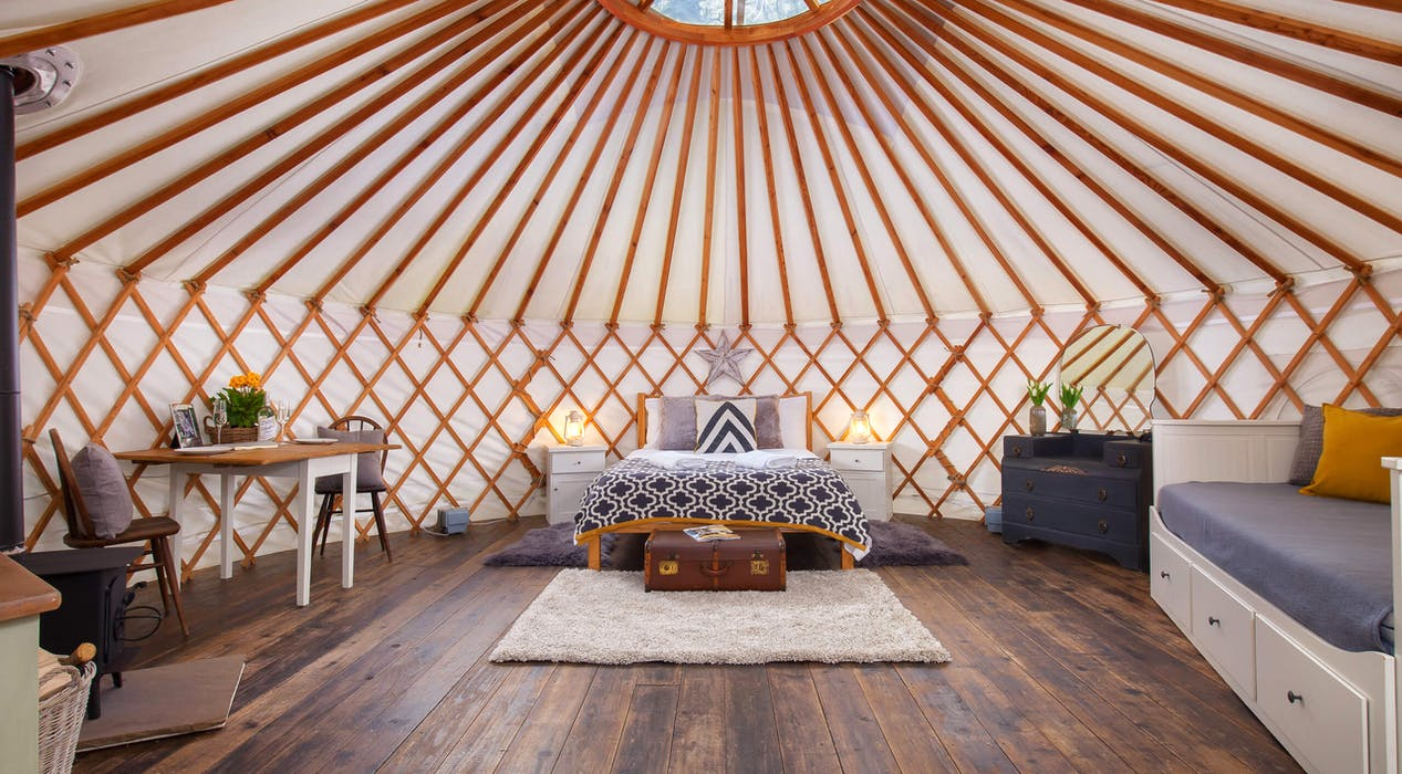 The Yurt Retreat Somerset Beautiful Yurt Glamping