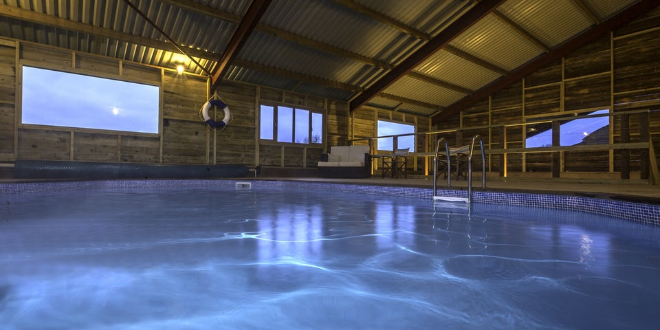 The Shed Modern House With Indoor Pool