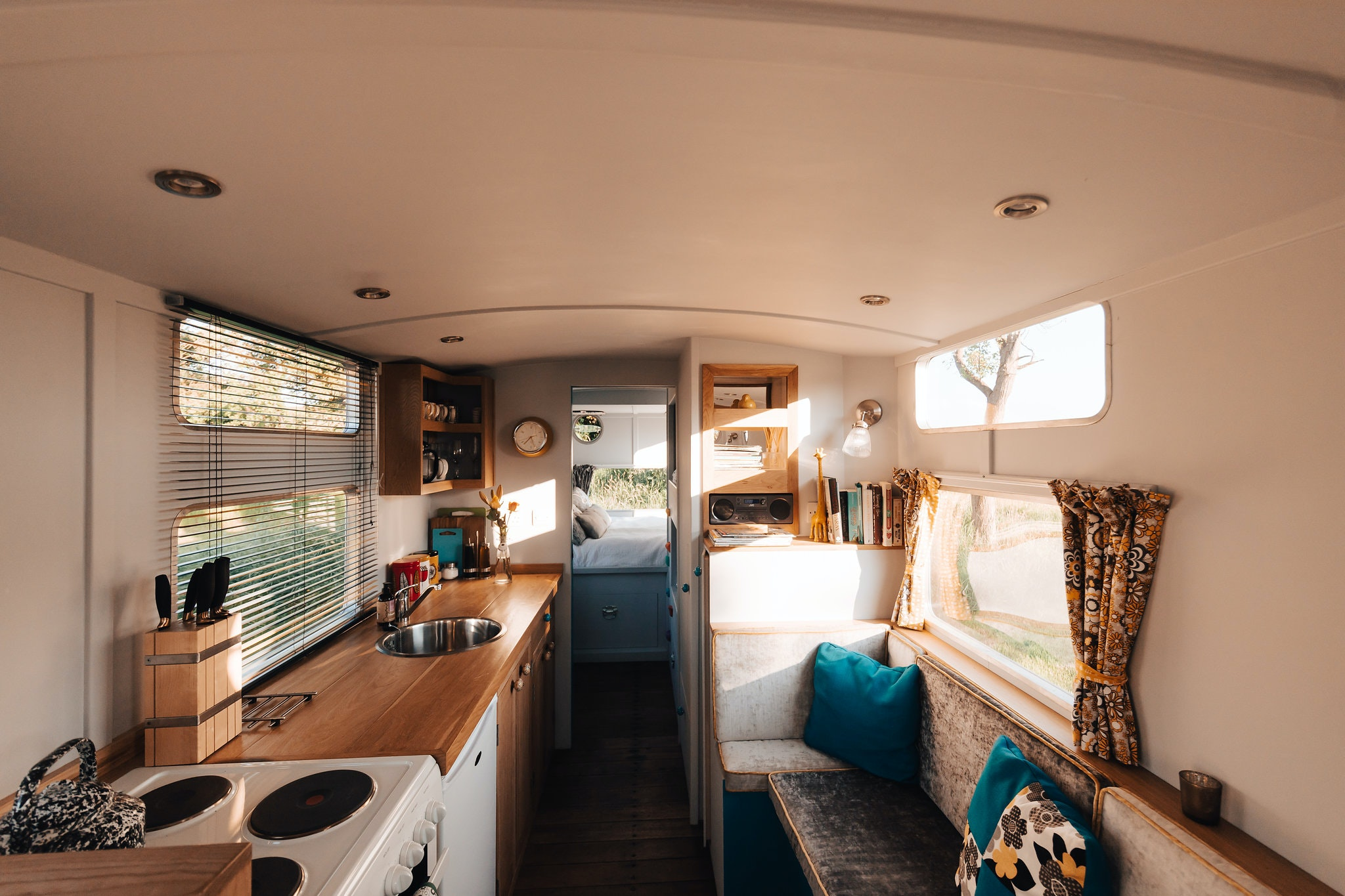 Creative This Is An Absolute Delight Believe You Me, I Am No Camper, But I Loved Our Time In The Warwick Knight The Fit Out Of This Old Aluminium Caravan Is Superb The Owner Is A True Craftsman The Attention To Detail Along With The Very Clever Use