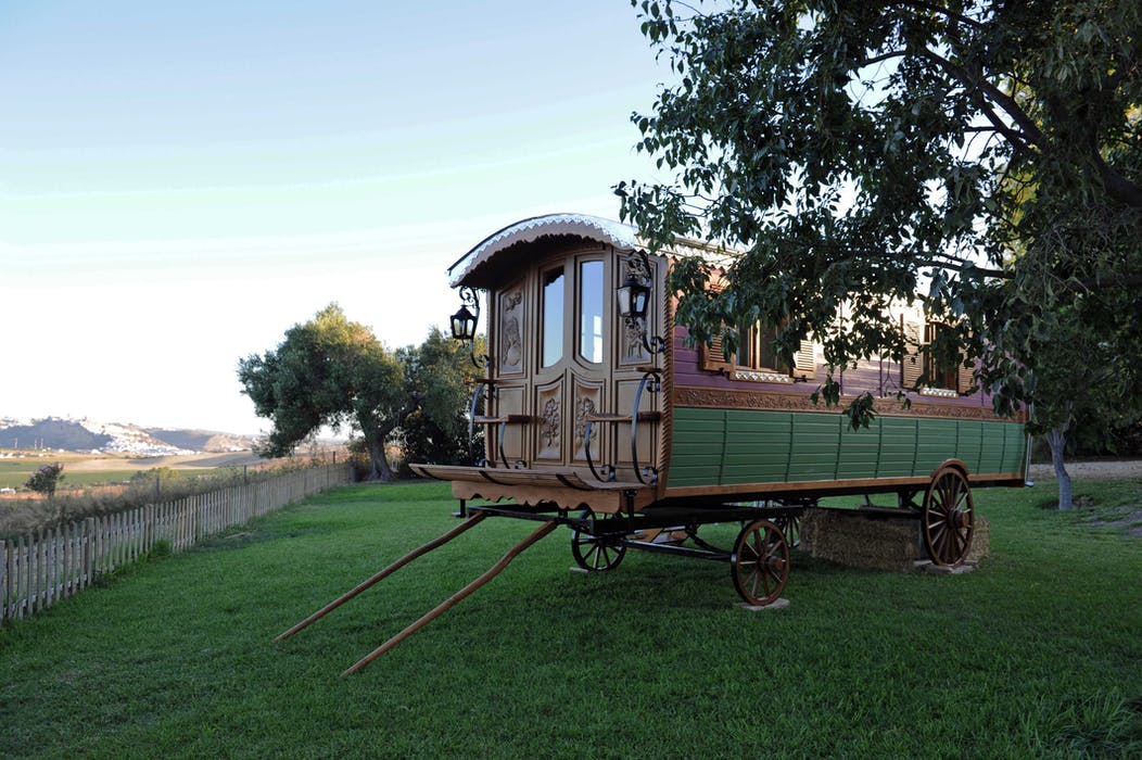 Cortijo Bablou Farmhouse With Tents And Gypsy Caravans