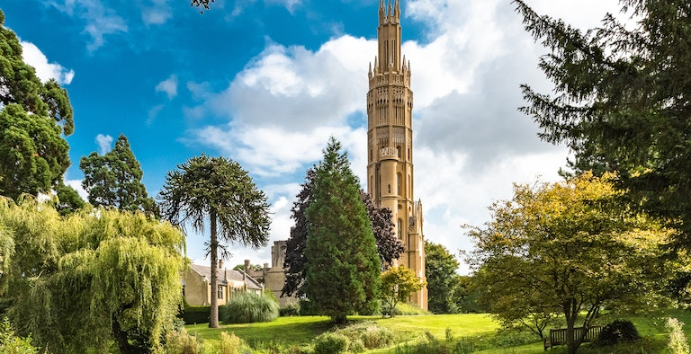 The Hadlow Tower