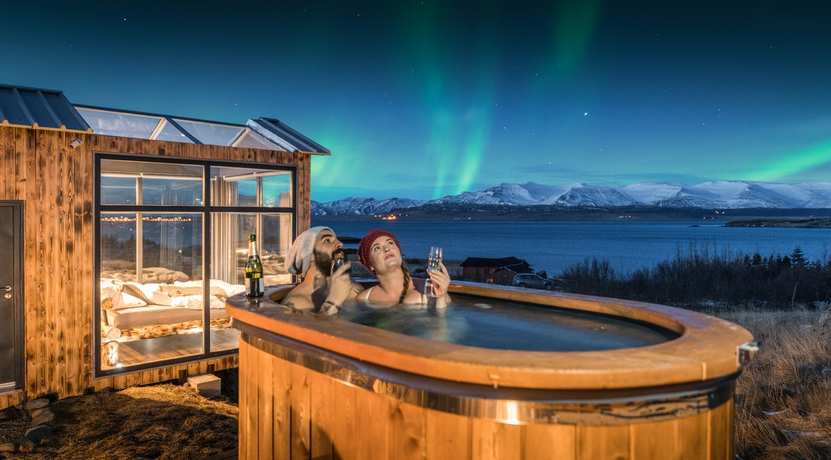 Panorama Glass Lodge Sleep Under The Stars In Iceland
