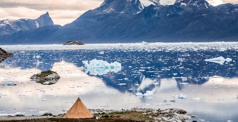 Camp Kiattua - Nuuk Fjord