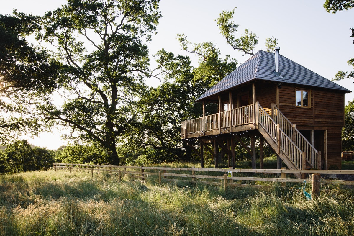 Netherby Estate Treehouse A Cosy Cabin For 4 In Cumbria