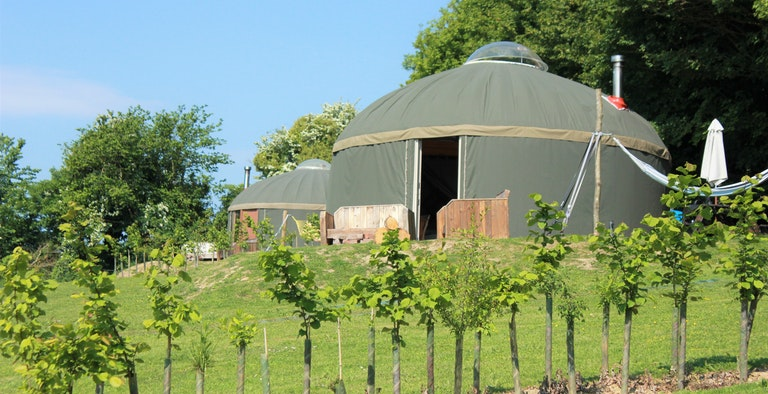 The Garlic Farm Yurts