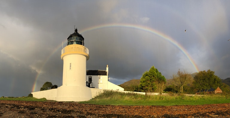 Corran Lighthouse Lodge