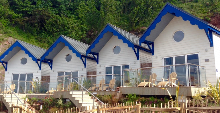 Beach Huts at Cary Arms