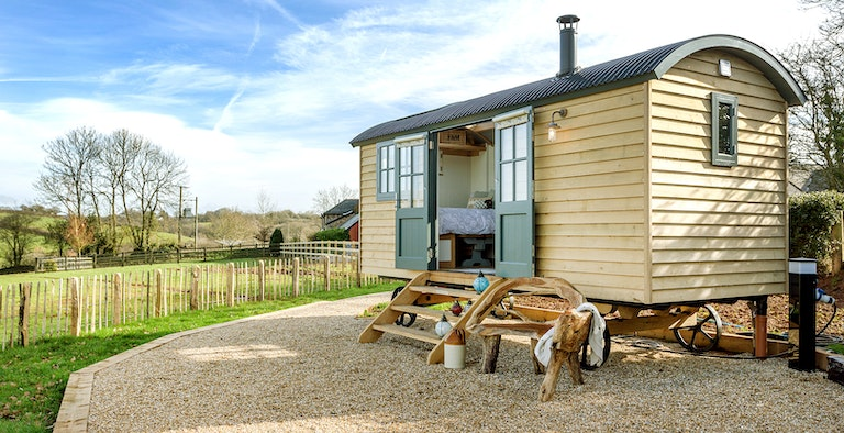 South Coombe Shepherds Hut