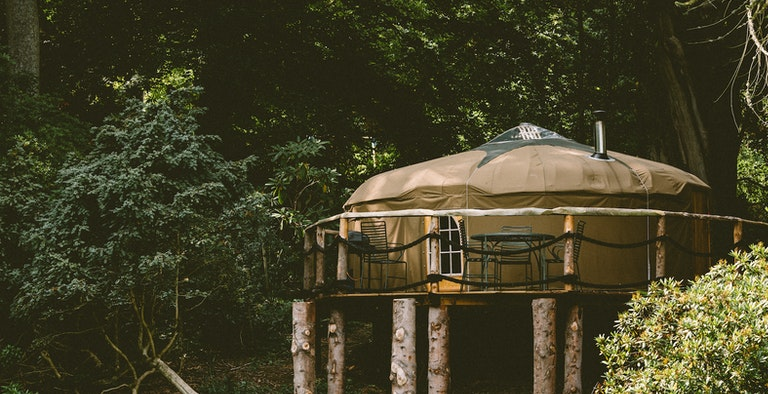 After the Gold Rush Yurt