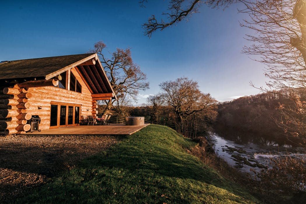 Hidden River Cabins Luxury Lodges In The Cumbria Countryside