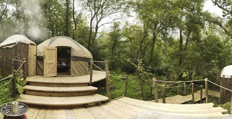 Crafty Camping - Yurts and Tents