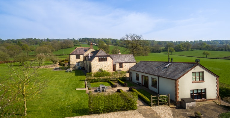 Haybarton Cottage at Bidwell Farm