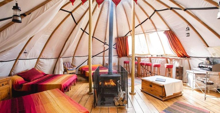Larkhill Tipis & Yurts