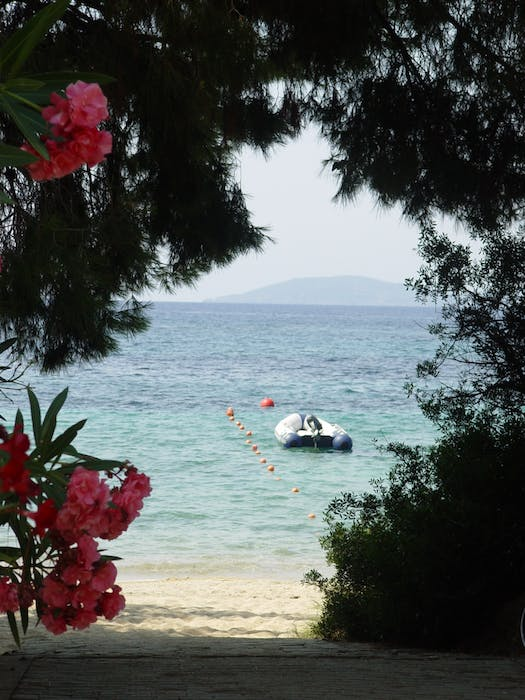 Areti Camping And Bungalows Right On The Beach In Greece