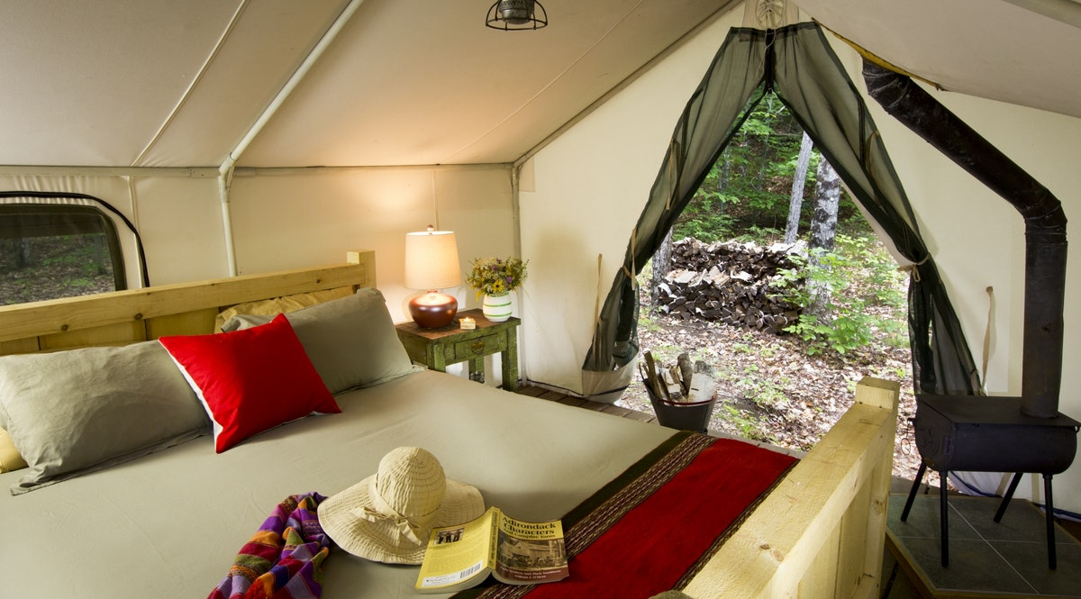 Camp Orenda - Backcountry glamping at this camp in